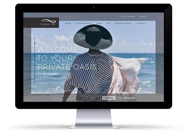 tideline-web Creative Tells the Story