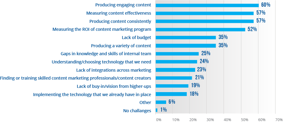B-MarketingChallenge-graph Your Biggest Marketing Challenges